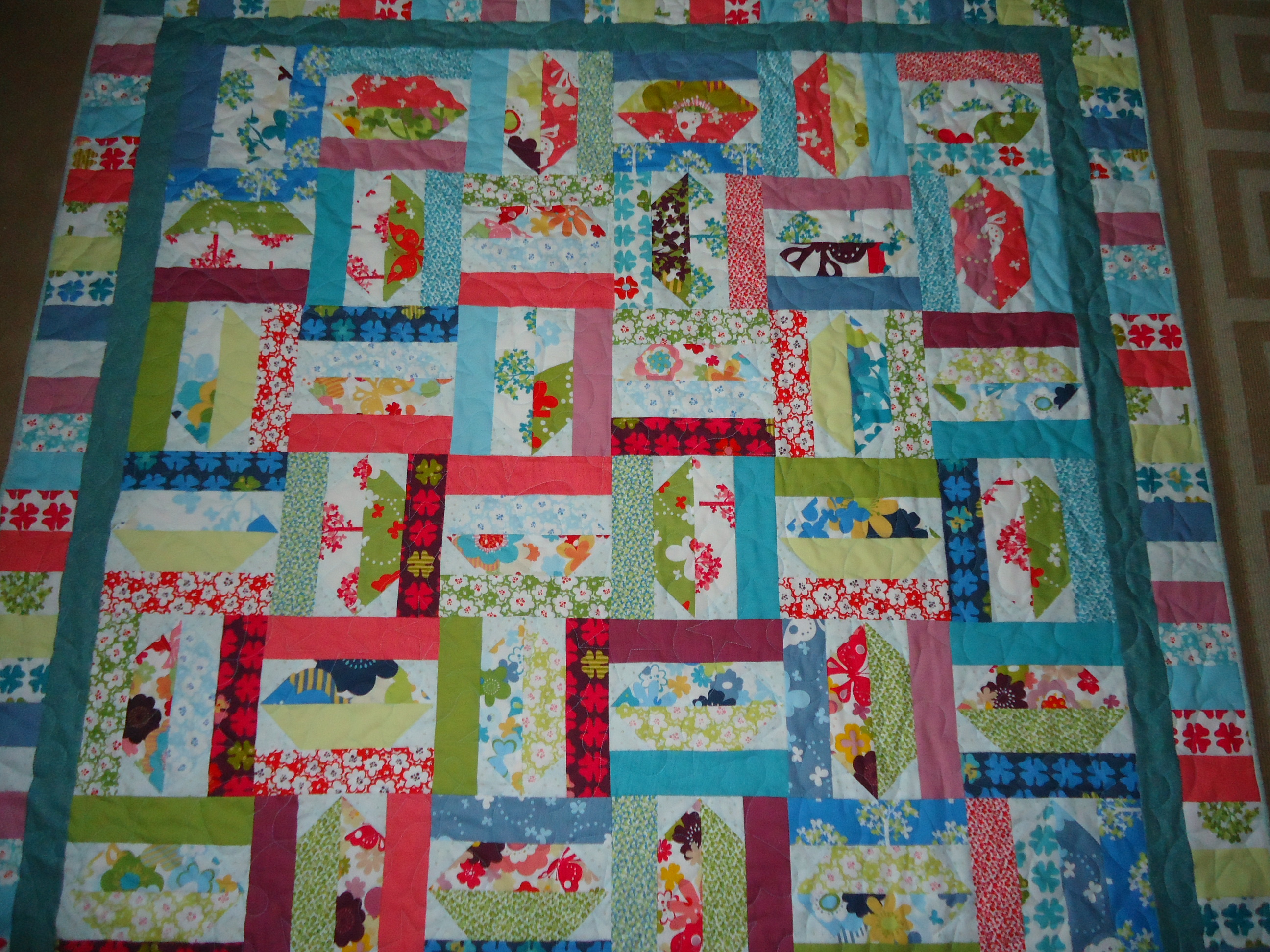 Jelly Roll Quilt Lucie The Happy Quilter s Blog