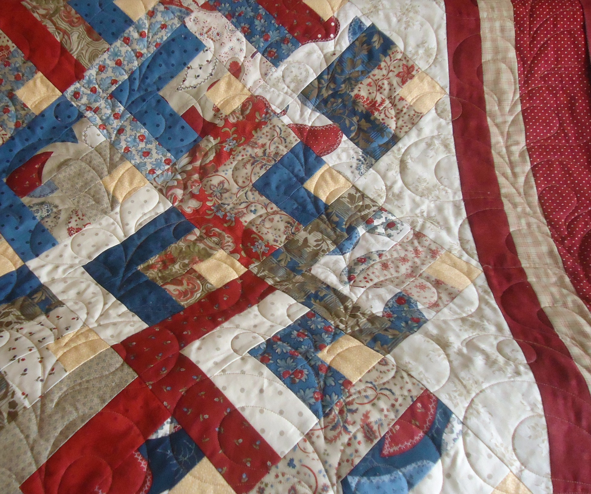 Quilt Patterns Using Moda Jelly Rolls : Moda Jelly Roll Lucie The Happy Quilter s Blog