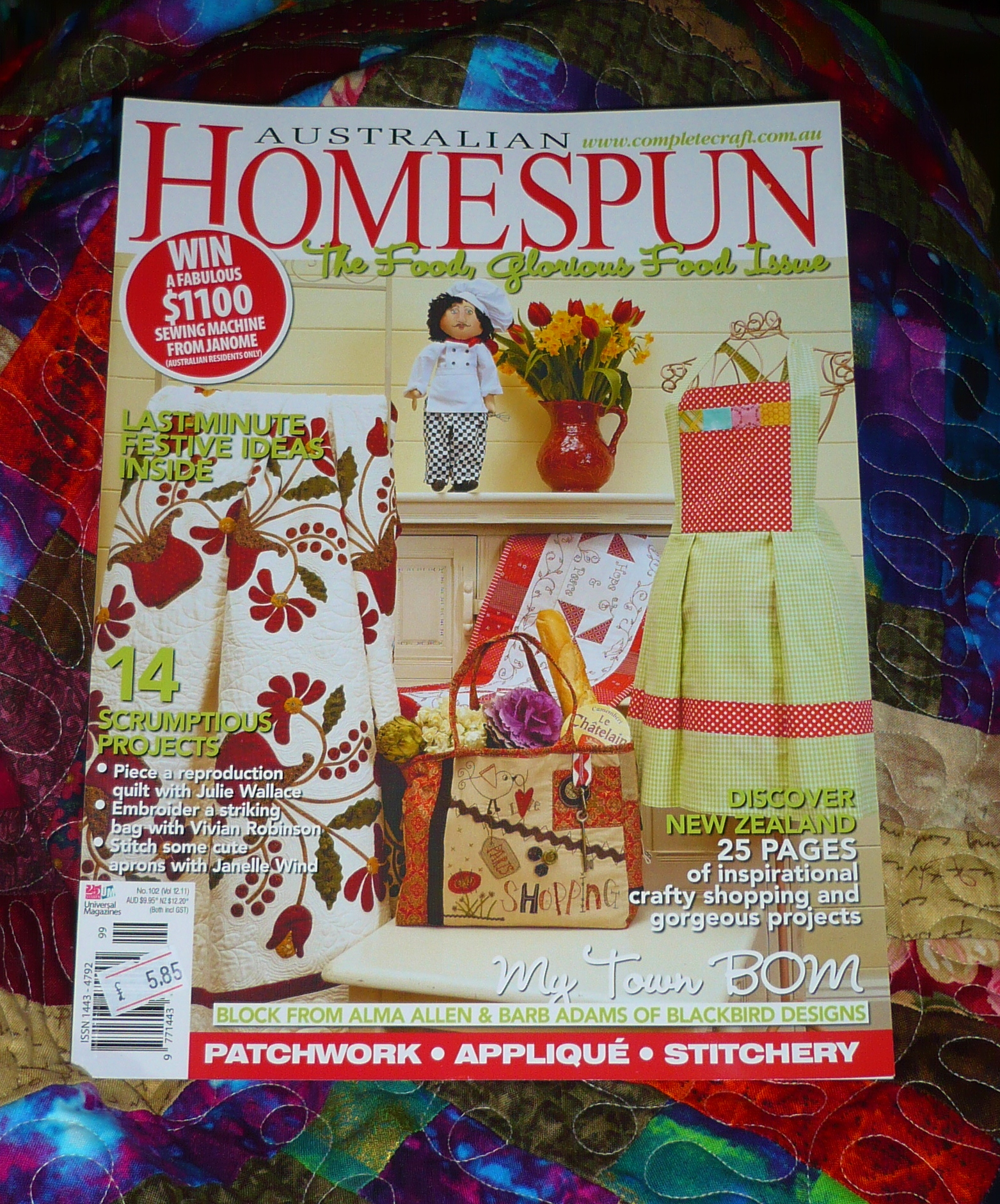 Australian Homespun Magazine | Lucie The Happy Quilter's Blog : australian quilt magazines - Adamdwight.com