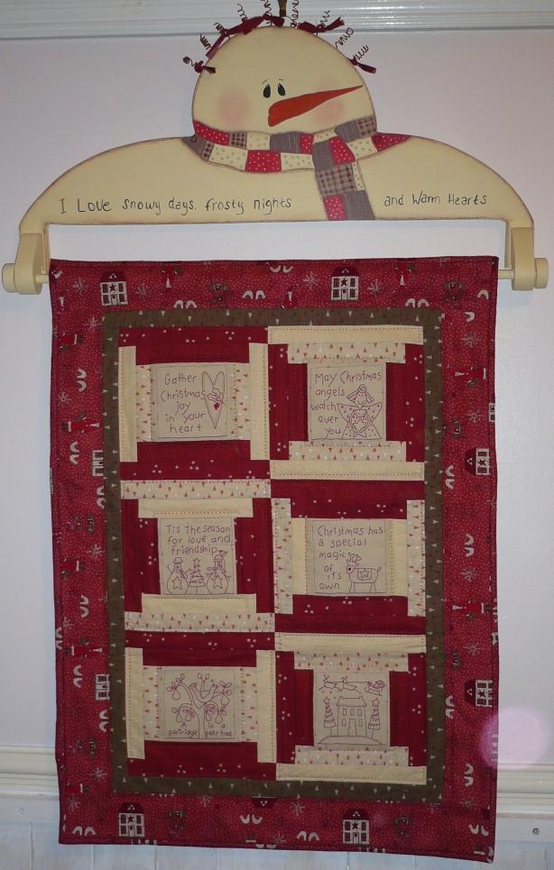 wooden quilt hanger plans