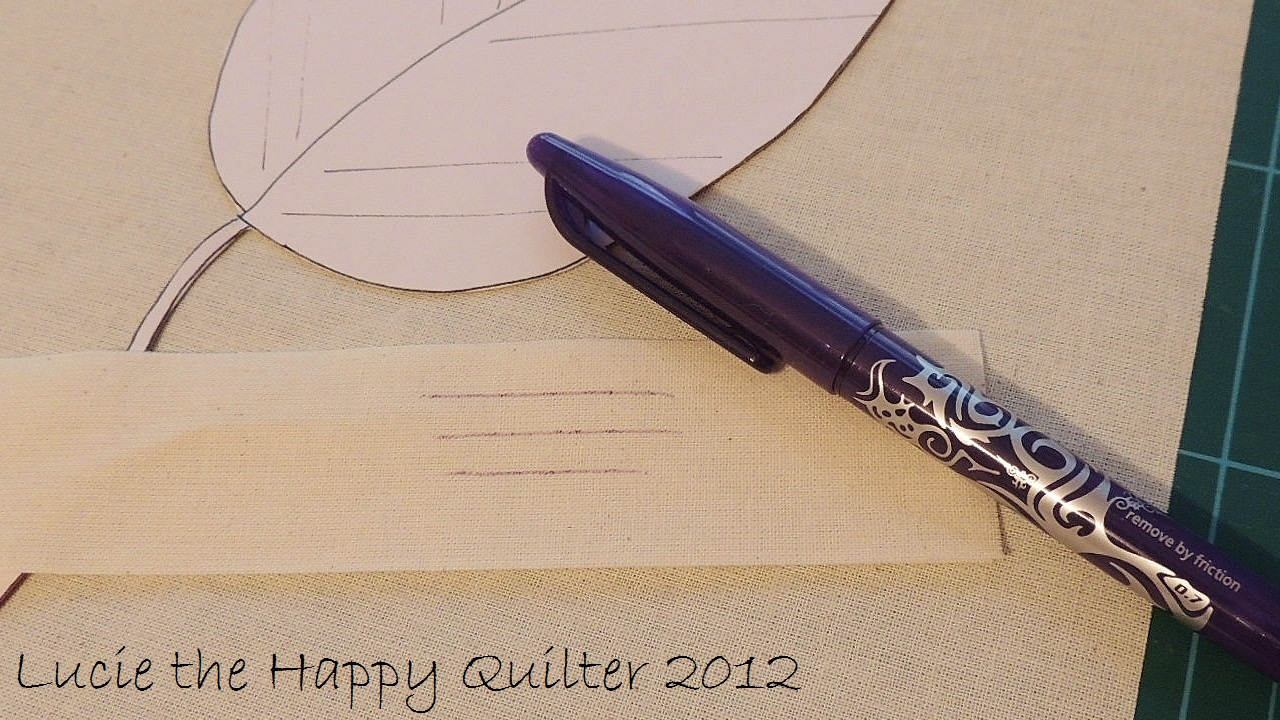 Pilot Frixion Pens | Lucie The Happy Quilter's Blog : marking pens for quilting - Adamdwight.com