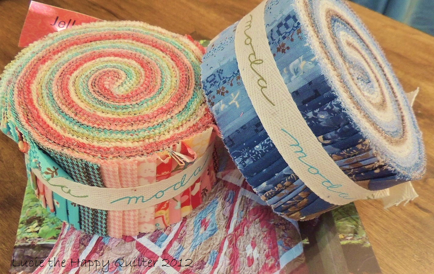Jelly Roll Quilts Lucie The Happy Quilter S Blog