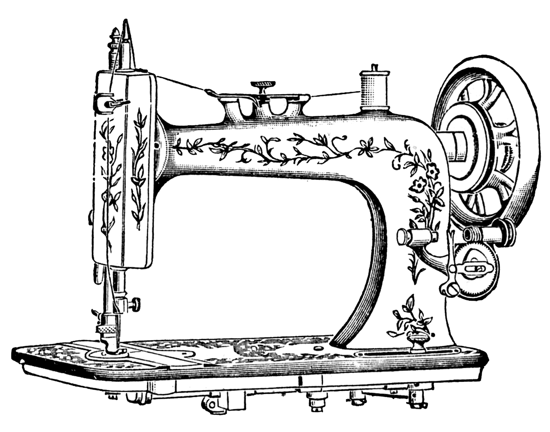 CHANGING SEWING MACHINES……