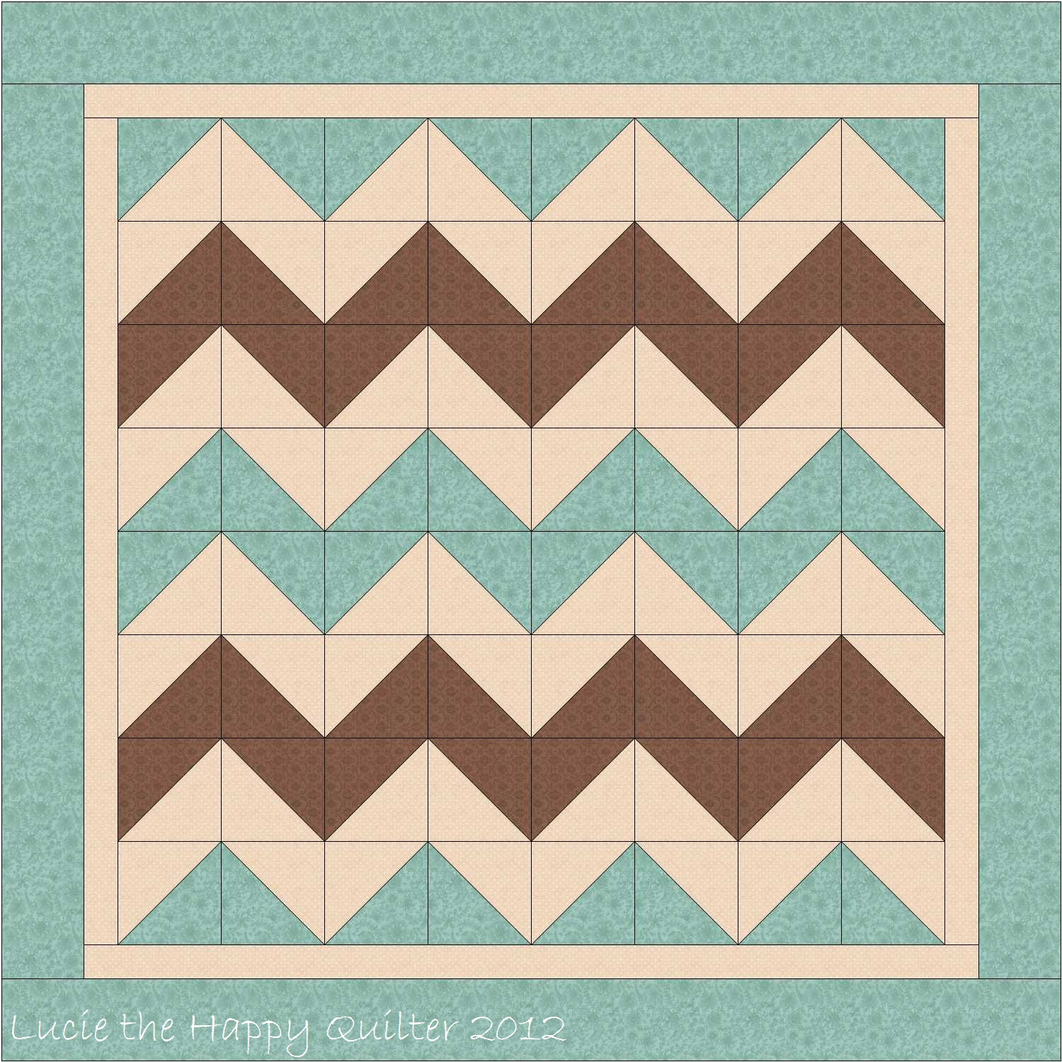 Chevron Quilt Design | Lucie The Happy Quilter's Blog : chevron quilt - Adamdwight.com