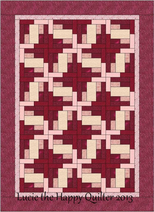 Lively Logs Quilt