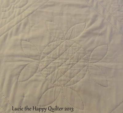Centre Hand Quilting