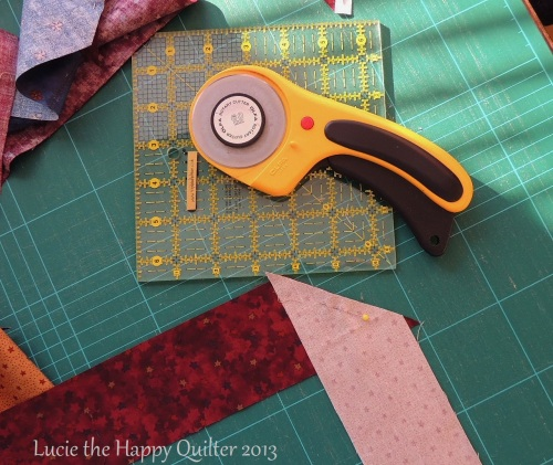 Piecing Scrappy Binding