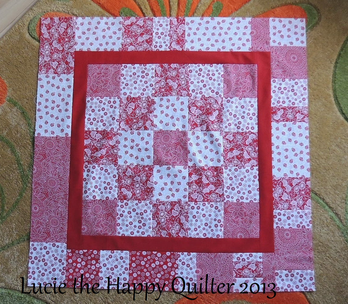 Let S Finish It Up Together Lucie The Happy Quilter S Blog