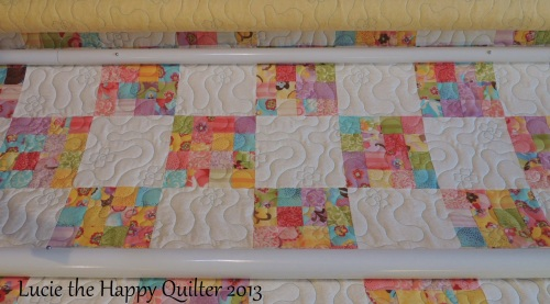 Lizs girly quilt