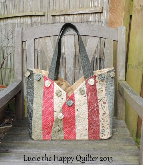 Scrappy Semi Circle Bag