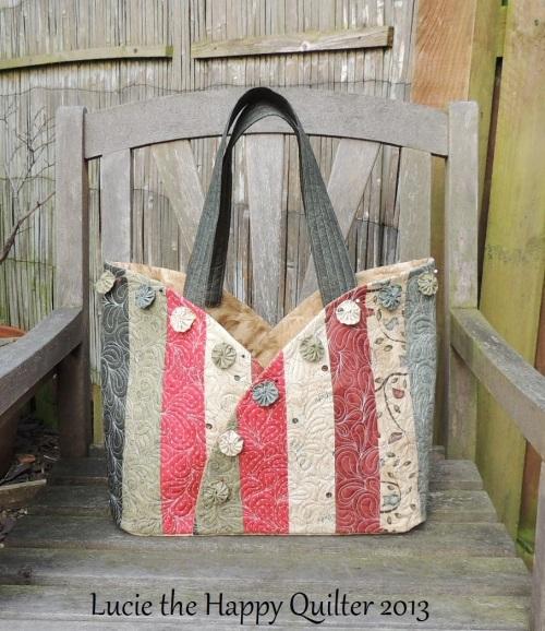 Scrappy Semi Circle Bag