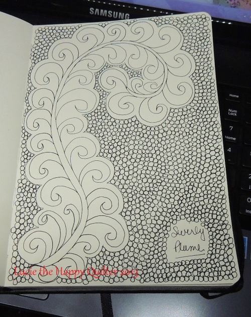 Swirly Plume Doodle