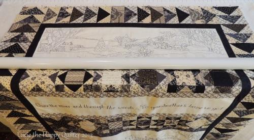 Lynns stitchery quilt