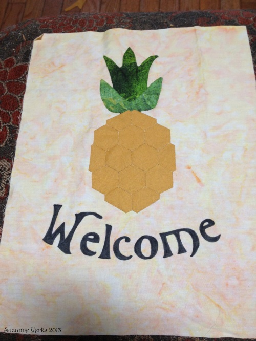 Welcome block by Suzanne Yerks