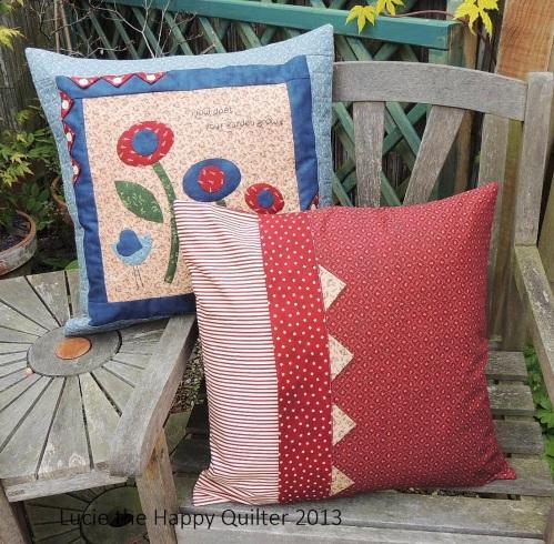 Applique Cushions 1