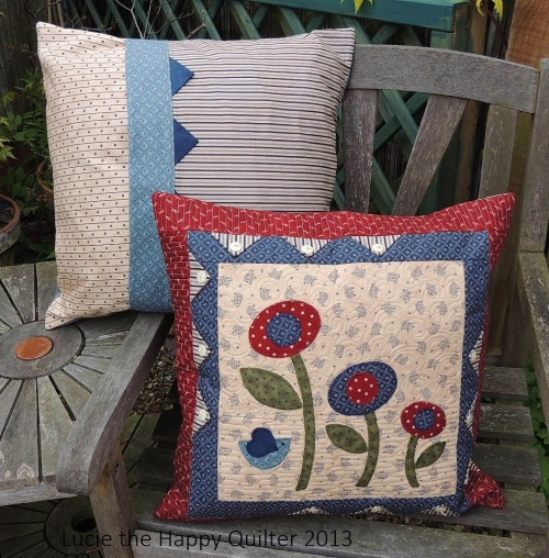 Applique Cushions 2