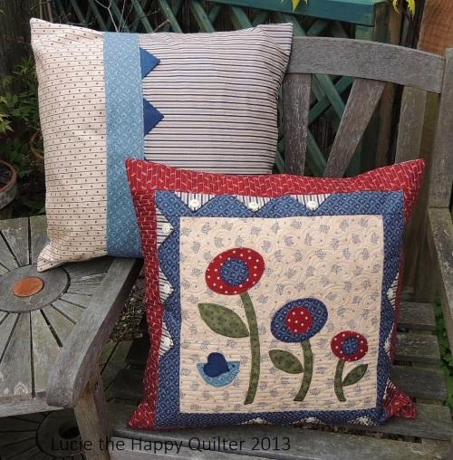 Applique Cushions 2