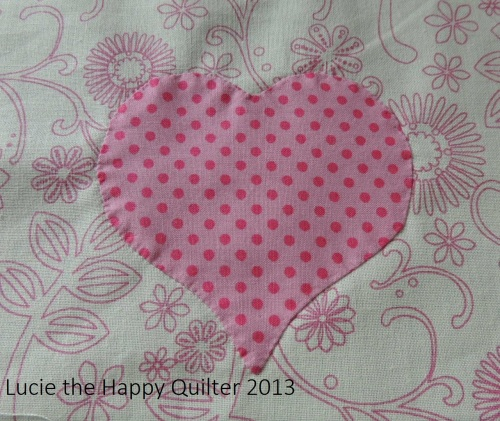 Applique Heart 3