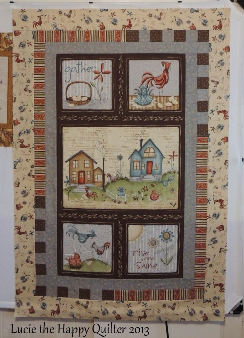 Home to Roost Panel Progress a