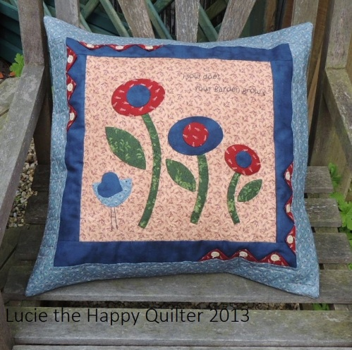 How Does Your Garden Grow Cushion Front