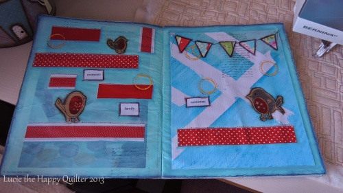 Robin Journal Page