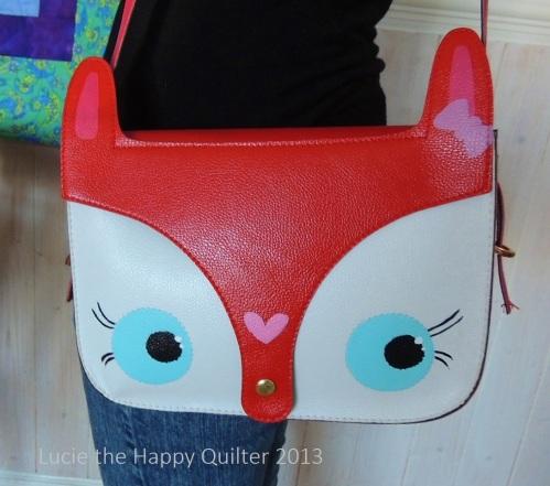 Sarah's new handbag