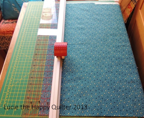 Cutting Strips for Boys Quilts