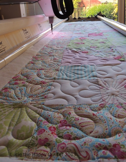 Kerrie's Girly Quilt 1