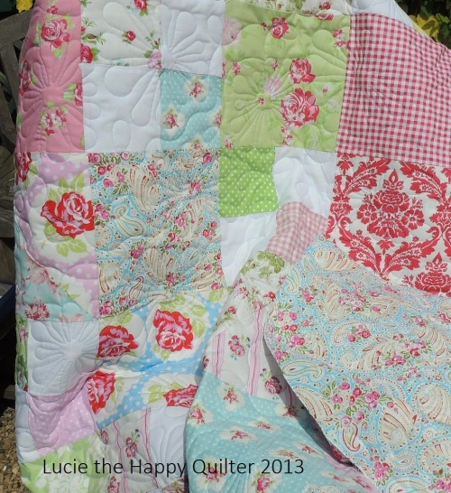 Kerrie's Girly Quilt 5