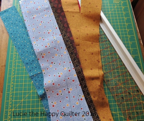 Strips for Boys Quilts