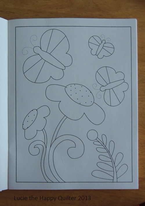 Whimsical Designs Colouring Book Sample