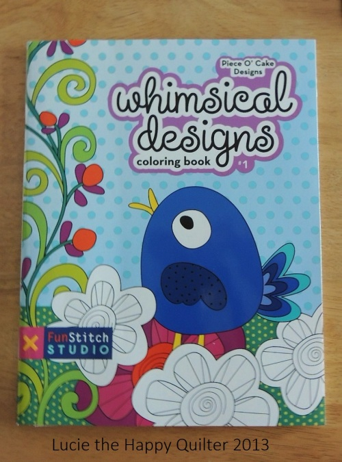 Whimsical Designs Colouring Book