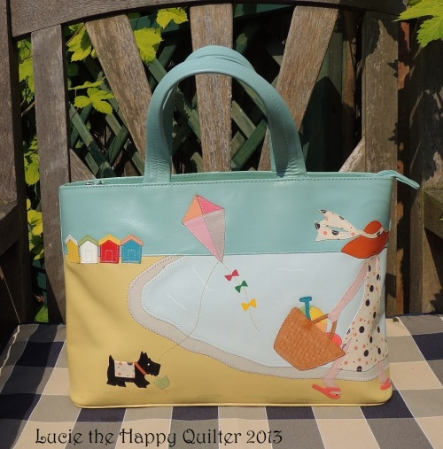 Beach Hut Handbag