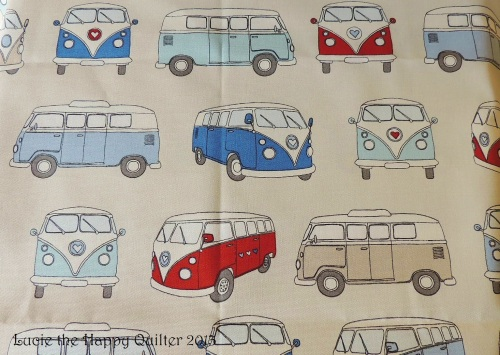 Campervan fabric from Valley Textiles