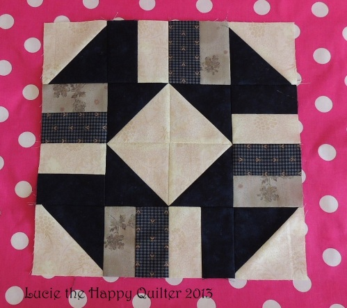 Crossroads Block for Quilts for Comfort