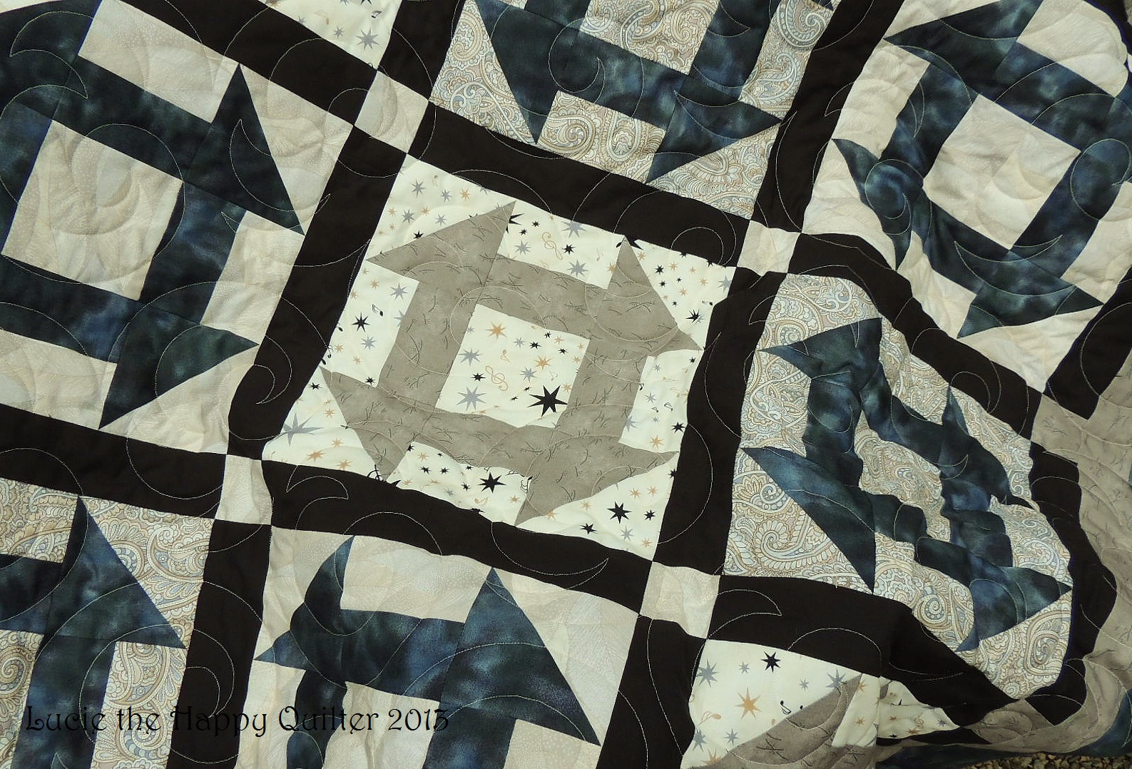 Double Monkey Wrench Quilt Lucie The Happy Quilter s Blog