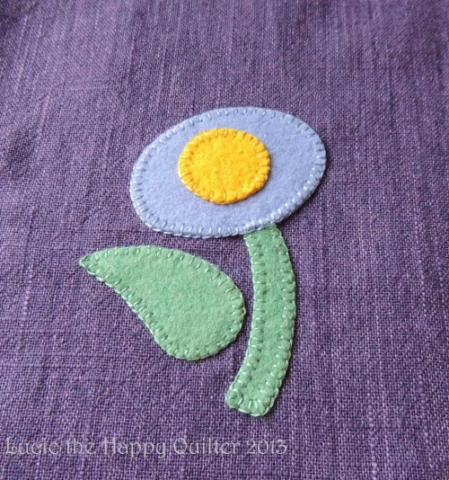 Felt Applique progress 2