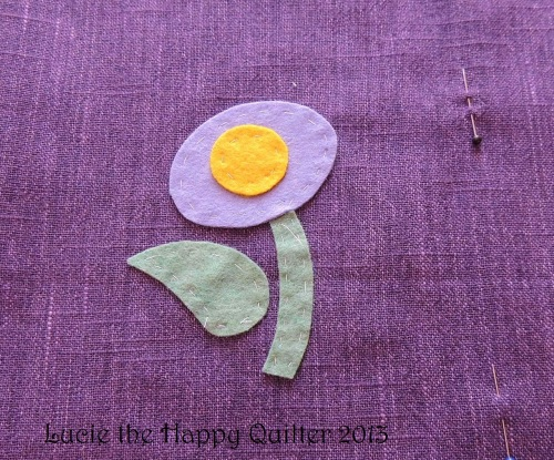 Felt Applique Work