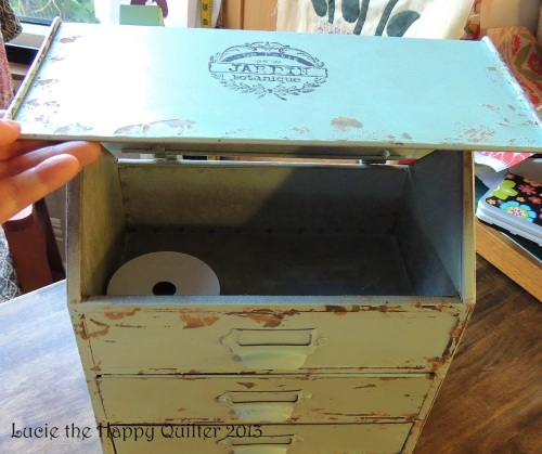 Happy Quilter Shabby Chic Storage 2