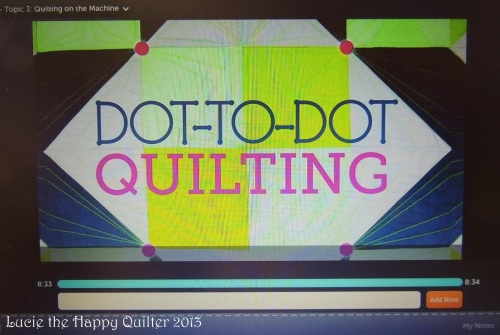 Dot-to-Dot Quilting with Angela Walters