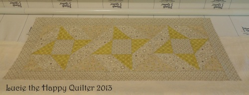 Friendship Star Table Runner