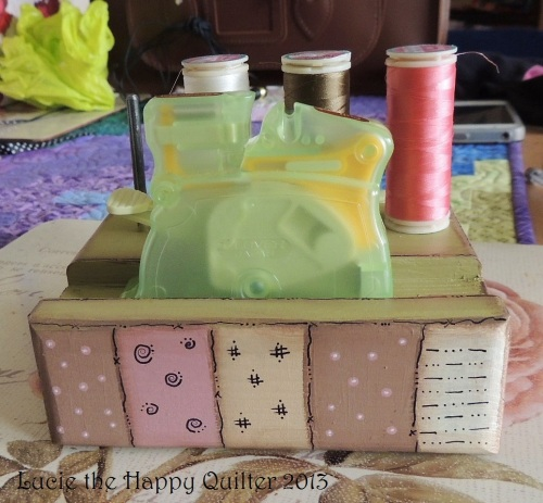 Decorative Sewing Tidy 1