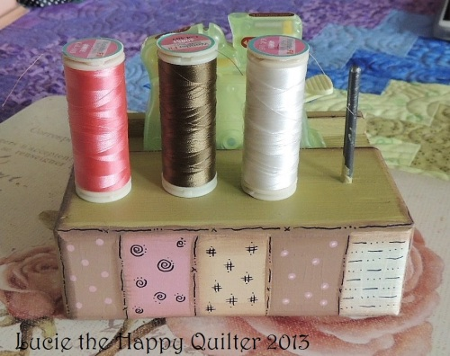 Decorative Sewing Tidy 2