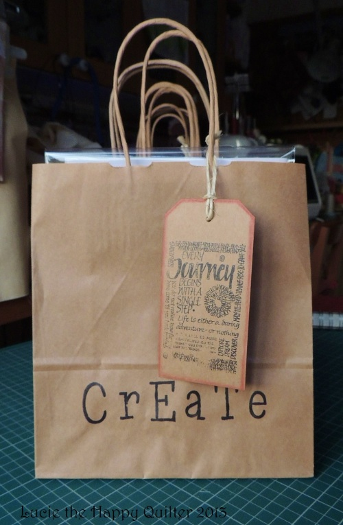 Goody bags for Crafty Bag class 2