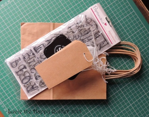 Goody bags for Crafty Bag class