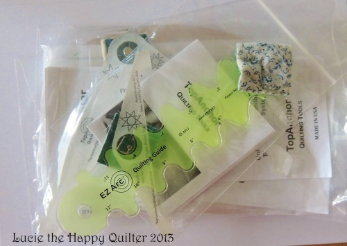 Longarm quilting rulers