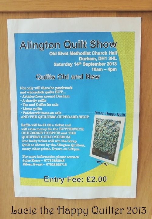 Quilt Show Poster