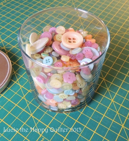 Vintage looking buttons for embellishing