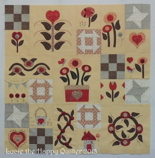 3 Section Mystery Whimsical Applique & Stitchery Project