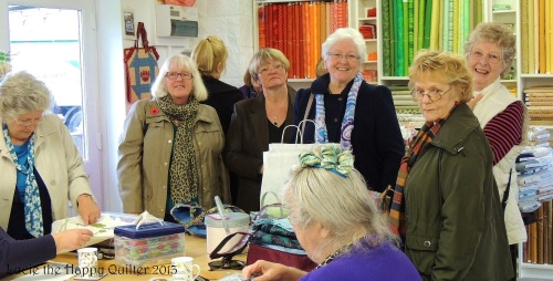 Burnopfield Quilters visit to Stitchin' Heaven